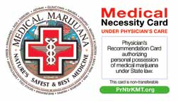 Medical Nessecity Card