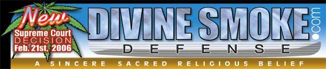 Divine Smoke home page